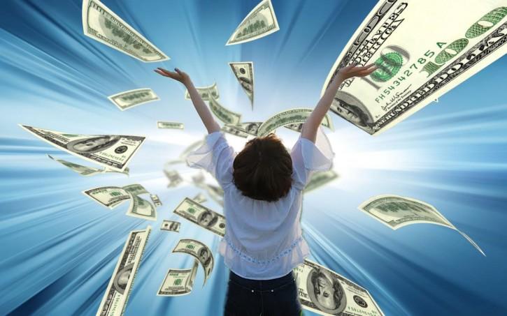 притяжение денег